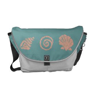 Batik Seashell Trio Communter Bag Messenger Bag