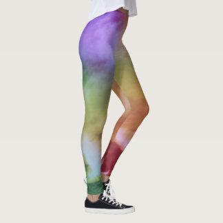 Batik Style Leggings