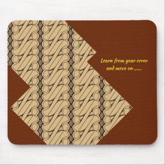 Batik style mouse pad cheer up