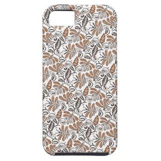 Batik Walang White Pattern (Java Pattern) iPhone 5 Cover