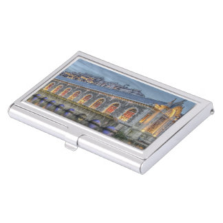 Batiment des Forces-Motrices Geneva Switzerland Business Card Holder