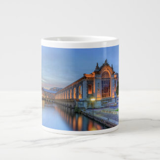 Batiment des Forces-Motrices, Geneva, Switzerland Large Coffee Mug