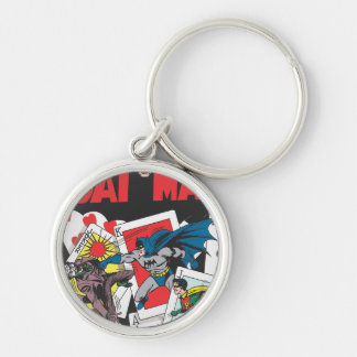 Batman #11 Comic Silver-Colored Round Key Ring