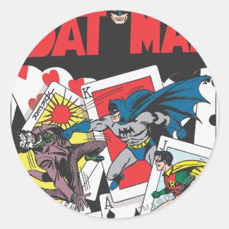 Batman 11 Comic Round Sticker