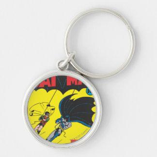 Batman #1 Comic Silver-Colored Round Key Ring