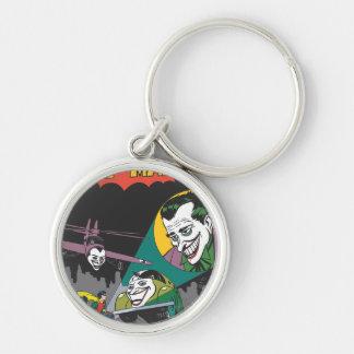 Batman #37 Comic Silver-Colored Round Key Ring