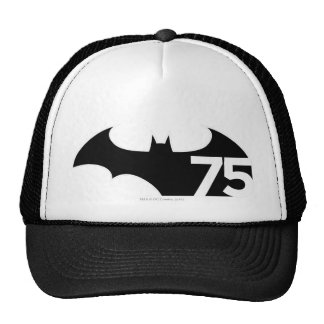 Batman 75 Logo Hats