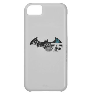 Batman 75 Logo - Chalkboard Cover For iPhone 5C