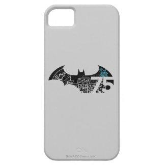 Batman 75 Logo - Chalkboard iPhone 5/5S Cases