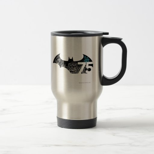 Batman 75 Logo - Chalkboard Mugs