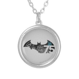 Batman 75 Logo - Chalkboard Custom Necklace
