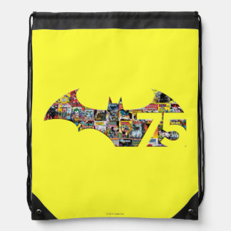 Batman 75 Logo - Comic Covers Backpack