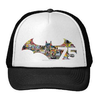 Batman 75 Logo - Comic Covers Mesh Hat