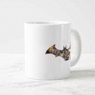 Batman 75 Logo - Comic Covers Jumbo Mug