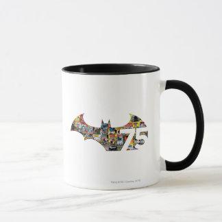Batman 75 Logo - Comic Covers Mug
