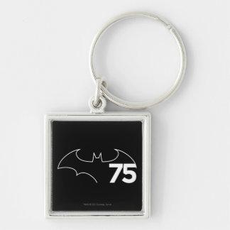 Batman 75 Logo Keychain