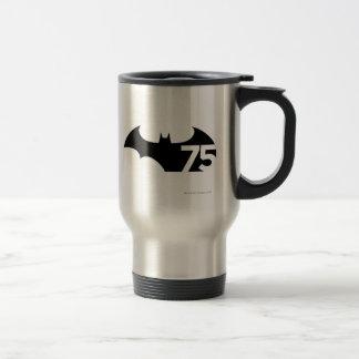 Batman 75 Logo Travel Mug