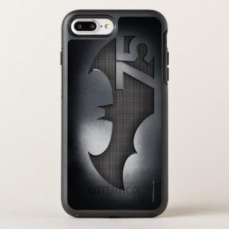 Batman 75 - Metal Grid OtterBox Symmetry iPhone 7 Plus Case
