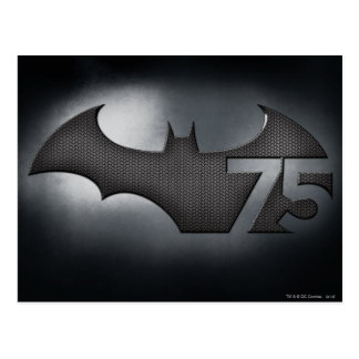 Batman 75 - Metal Grid Postcard