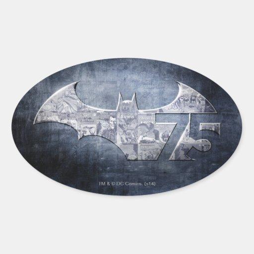Batman 75 - Street Comics Sticker