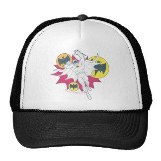 Batman And Bat Symbol Graphic Cap