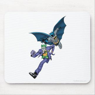 Batman and Joker with gun Mouse Pad
