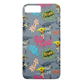 Batman And Robin Action Pattern iPhone 8 Plus/7 Plus Case