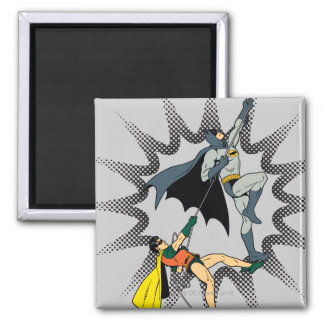 Batman And Robin Climb Magnet