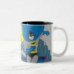 Batman And Robin Running Two-Tone Mug