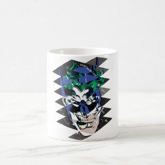 Batman and The Joker Collage Basic White Mug