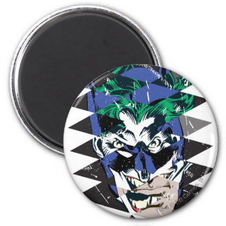 Batman and The Joker Collage Magnet