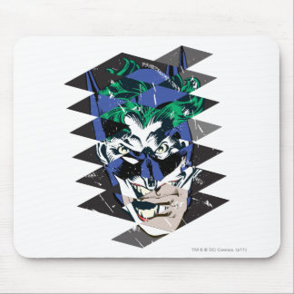 Batman and The Joker Collage Mouse Pad