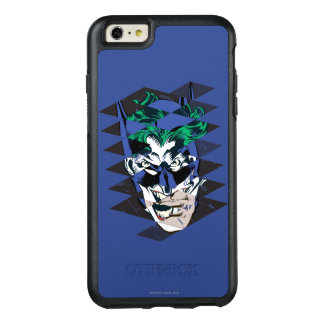 Batman and The Joker Collage OtterBox iPhone 6/6s Plus Case
