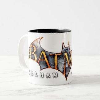 Batman: Arkham Asylum | Logo Two-Tone Coffee Mug