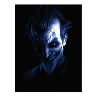 Batman: Arkham Asylum   The Joker In Shadow Postcard