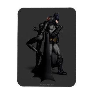 Batman Arkham City | Batman and Catwoman Magnet