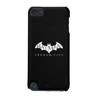 Batman Arkham City Label White iPod Touch (5th Generation) Cover