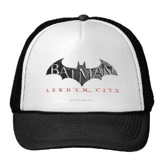 Batman Arkham City Logo Hats