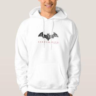 Batman Arkham City Logo Hoodies