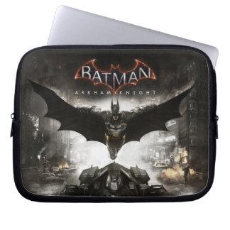 Batman Arkham Knight Key Art Laptop Sleeve