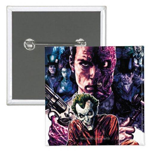 Batman - Arkham Unhinged #11 Cover Pinback Button