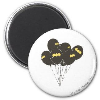 Batman Balloons 6 Cm Round Magnet