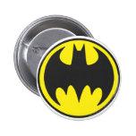 Batman Bat Logo Circle 6 Cm Round Badge