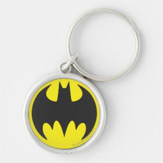 Batman Bat Logo Circle Keychains