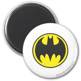 Batman Bat Logo Circle 6 Cm Round Magnet