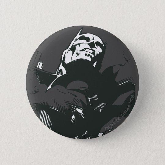 Batman Black & White Graffiti Stencil 6 Cm Round Badge