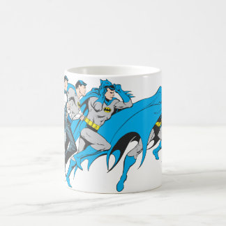 Batman/Bruce Transformation Classic White Coffee Mug