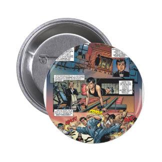 Batman - Bruce Wayne Origins 1 6 Cm Round Badge