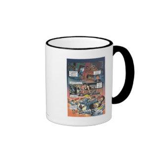 Batman - Bruce Wayne Origins 1 Ringer Coffee Mug