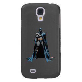 Batman cape over one side galaxy s4 cases